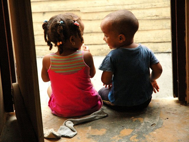 Let's talk. From the earliest years, we have a built-in need to communicate.