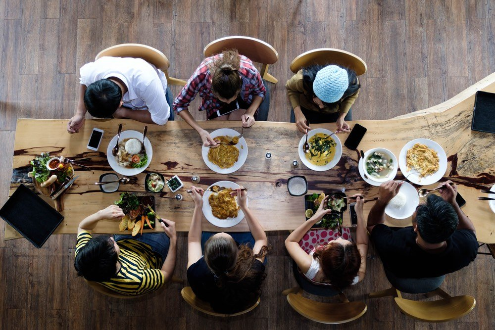 Creating agreed or shared meaning  includes deeloping a style around major events and celebrations, such as Christmas and births and deaths. Do you associate special food with these events?