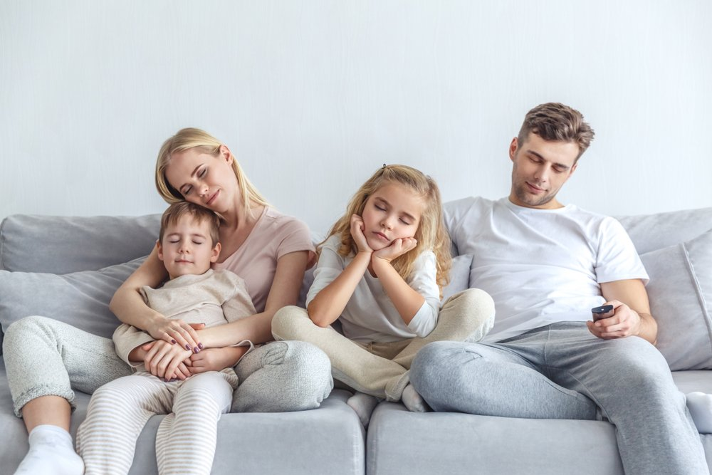 Fatigue wears down the whole family, and makes everyone less resilient to stress