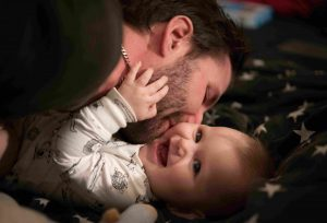 Is being a hands-on Dad your intention?