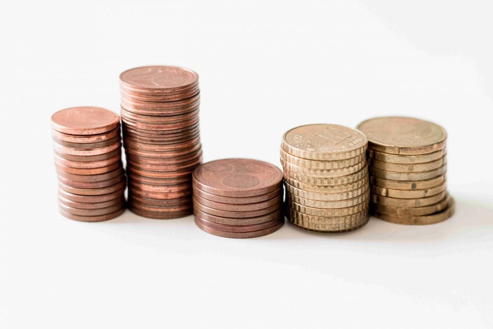 Money-talk is important fo couples, as shown by these stacks of gold coins.