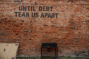 Is debt tearing you apart? Is the money yours - or the banks?