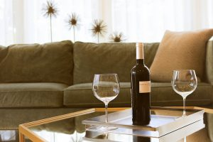 2 wine glasses and a bottle of wine might seem like harmless fun but does this enhance your relationship?