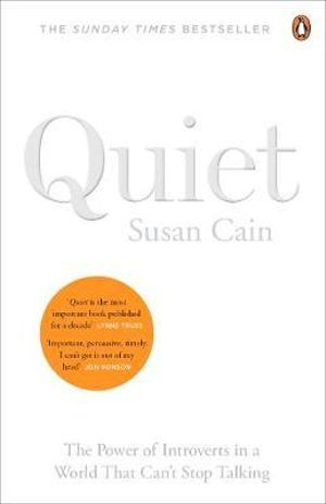 Dr Reads - Quiet - the power of introversion in a world that can't stop talking
